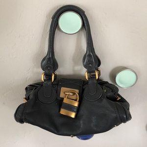 "Chloe ""Paddington"" Handbag Gray"